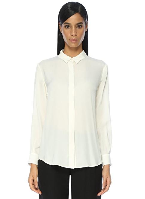 Academia İpek Gömlek Beyaz
